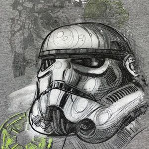 Official Star Wars Trooper Graphic T-Shirt